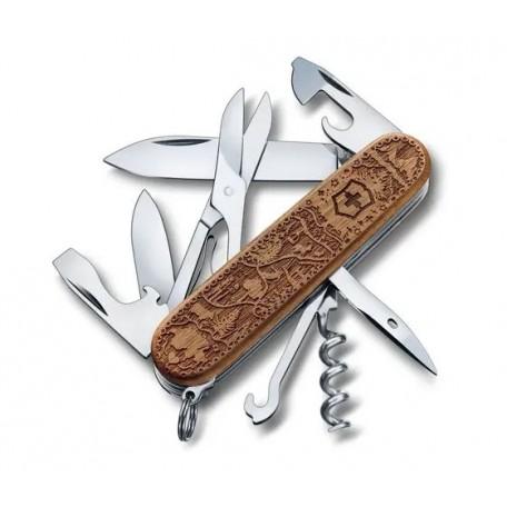 Victorinox - 1.3701.63L21 - Climber Wood Swiss Spirit Special Edition 2021