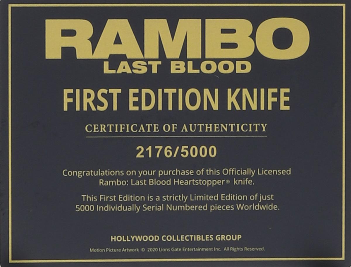 Rambo Last Blood Heartstopper